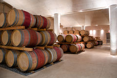 Barils de vin Photos stock