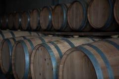 Barils de vin Images stock