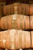 Barils de vin de port Image stock
