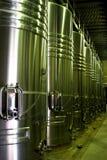 Barils de vin modernes Photos libres de droits