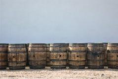 Barils de whiskey Image libre de droits