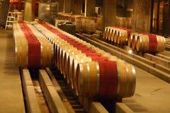 Barils en bois de vigne Images libres de droits