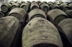 Barils pour le vin ou le whiskey Images libres de droits