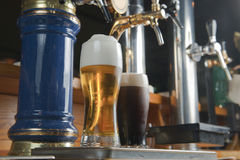 barins στρόφιγγα μπύρας Στοκ φωτογραφία με δικαίωμα ελεύθερης χρήσης