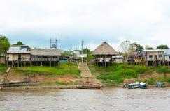 Bario Florido,亚马孙河,秘鲁 库存照片