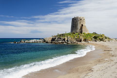 Barisardo beach (Sardinia,Italy) Stock Photography
