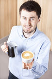 Barista Fotos de Stock