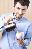 Barista Foto de Stock Royalty Free