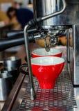 Barista Coffee Brewing stock foto's