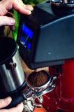 Barista Coffee Brewing stock fotografie