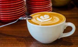 Barista Coffee Brewing Stock Photography