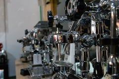 Barista Coffee Making Machine fotografie stock