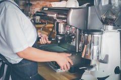 Barista coffee Royalty Free Stock Photos