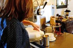 Barista espresso Royalty Free Stock Photos