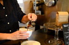 Barista espresso Royalty Free Stock Photography