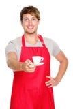 barista kelner Obrazy Stock