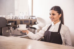 Barista Royalty Free Stock Image