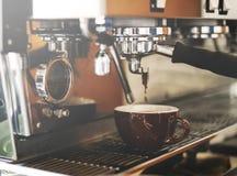 Barista Steam Coffee Chill della bevanda che sveglia concetto immagini stock libere da diritti
