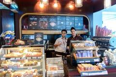 Baristi di Costa Coffee fotografia stock