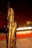 Baritone saxophone Stock Image