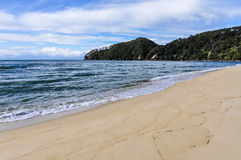 Bark Bay in Abel Tasman National Park, New Zealand Stock Image