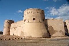 barka堡垒阿曼 库存图片