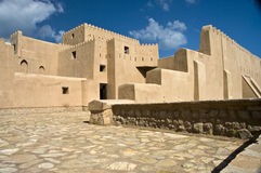 barka fort Oman Obrazy Royalty Free