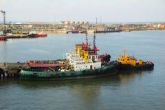 Barka przy morzem Zdjęcia Stock