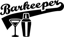 Barkeeperbarman Barman Royalty-vrije Stock Afbeelding