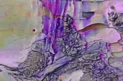 Barkentyna stary drzewo magiczny irrealny Fiołkowy tekstury tło fotografia royalty free
