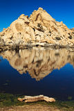 Barker Dam Reflections Stock Photos