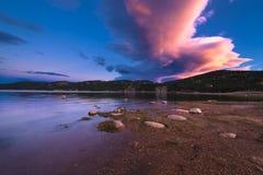 Barker Meadow Reservoir Imagen de archivo libre de regalías