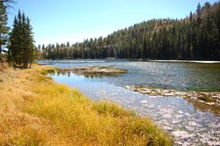 Barker Reservoir Royalty Free Stock Image