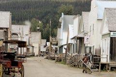 Barkerville BC Fotografia Stock
