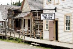 Barkerville BC Immagine Stock