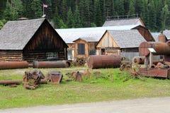 Barkerville BC Fotografia Stock Libera da Diritti