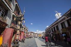 Barkhor du Thibet Lhasa Images stock