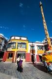 Barkhor Street Stock Image