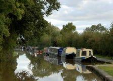 barki kanałowe Fotografia Royalty Free