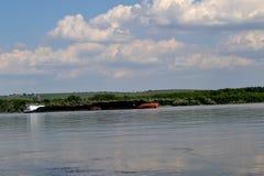 Barki na Danube Zdjęcia Royalty Free