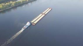 Barki rzeki antena zbiory wideo