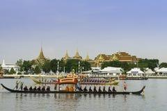 Barki tajlandzka Królewska Parada Fotografia Royalty Free