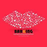 Barking Royalty Free Stock Images