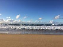 Barking Sands Beach at Polihale State Park on Kauai Island. Stock Images