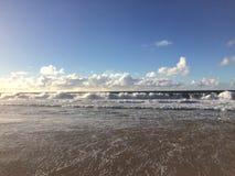 Barking Sands Beach at Polihale State Park on Kauai Island. Stock Photo