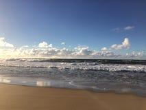 Barking Sands Beach at Polihale State Park on Kauai Island, Hawaii. Stock Photos