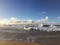 Barking Sands Beach at Polihale State Park on Kauai Island, Hawaii. Royalty Free Stock Photos