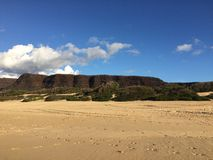 Barking Sands Beach at Polihale State Park on Kauai Island, Hawaii. Stock Photo