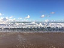 Barking Sands Beach at Polihale State Park on Kauai Island, Hawaii. Stock Image
