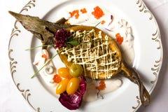 barkley鱼子酱paerl被充塞的顶视图 免版税库存图片